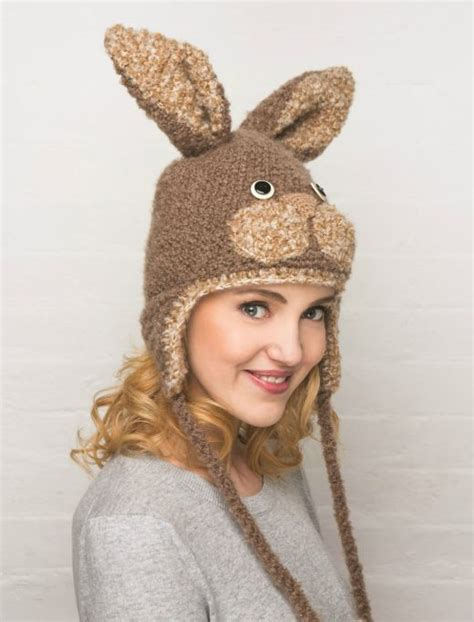 how to knit a bunny hat knitted bunny hat free craft project knitting and