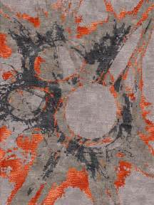 contemporary modern rugs 25 best ideas about orange rugs on