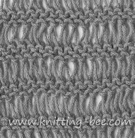 Dishcloth Stitch