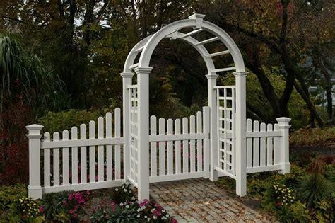 Garden Arch Gate Uk New Arbors Decorative Nantucket Deluxe Garden