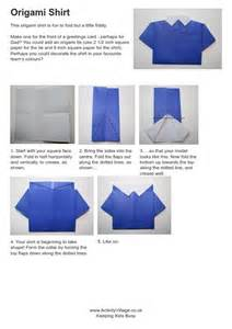 how to fold an origami shirt origami shirt