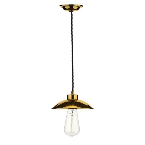 hanging lights industrial ceiling pendant light in copper supported on