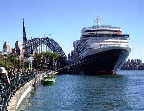cruises sydney professor cruise ship cruise departure port sydney