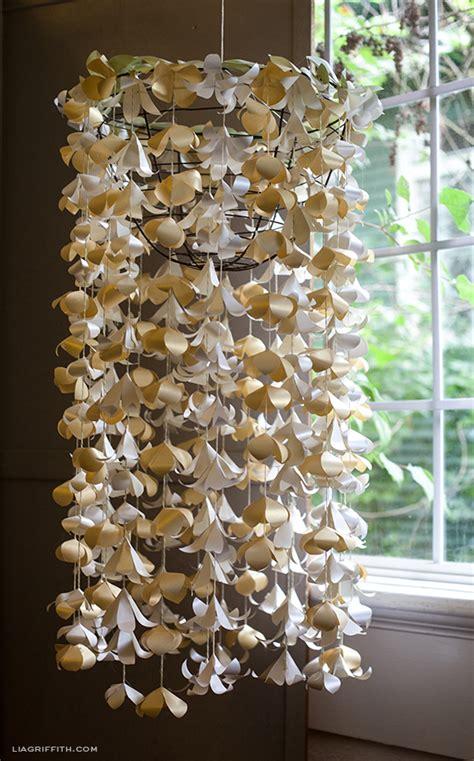 hanging paper chandelier diy paper flower chandelier paper papers