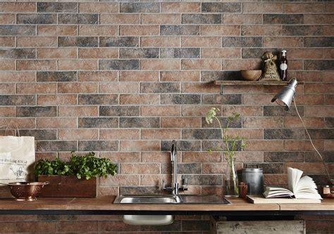 Brick Tile Backsplash Kitchen brick tiles exposed brick without the mess tile mountain