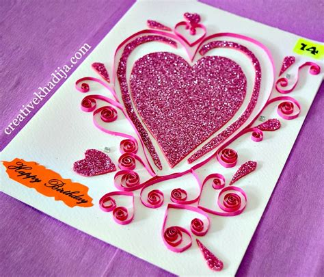 how to make birthday cards for paper quilling cards ideas for eid and birthday