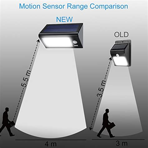 solar security light with motion sensor solar lights amir solar powered motion sensor light