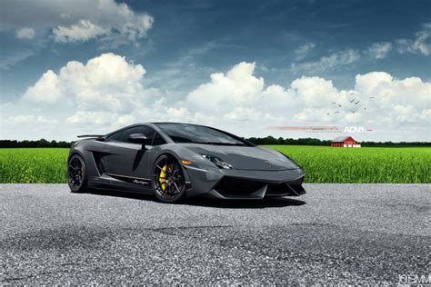 Stunning Lamborghini Gallardo Superleggera Lowered on ADV