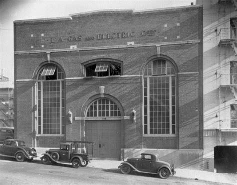 los angeles rubber st company water and power associates