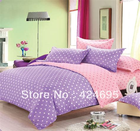 purple polka dot comforter sets shop popular purple comforter sets from china