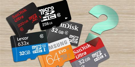 who makes the best sd cards 5 mistakes to avoid when buying your next microsd card