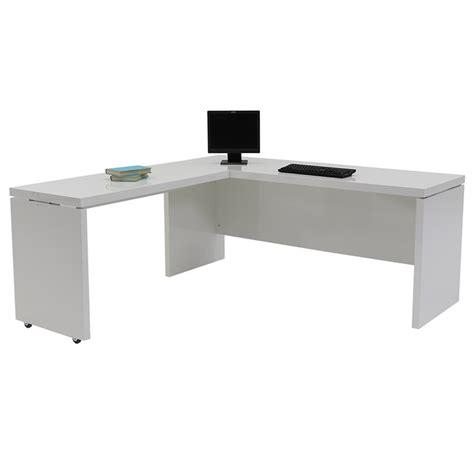 office l shape desk sedona white l shaped desk made in italy el dorado furniture