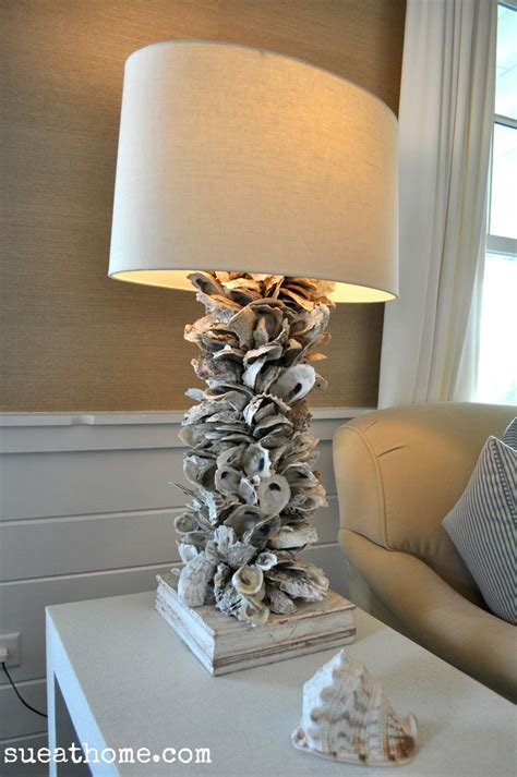 oyster shell craft projects 183 best shell lighting images on sea