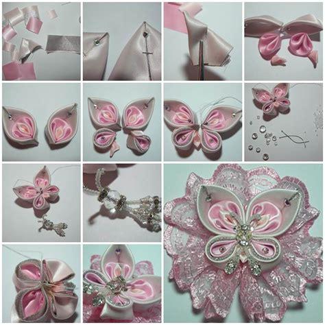 ribbon projects crafts diy beautiful satin ribbon butterfly satin butterfly