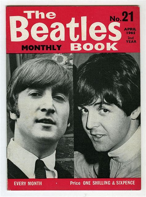 beatles picture book the beatles monthly book number 21 april 1965