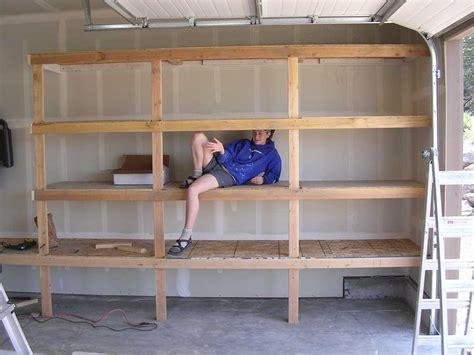 garage storage design plans diy garage shelves for your inspiration diy garage