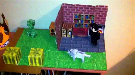 minecraft crafts for minecraft paper craft the house