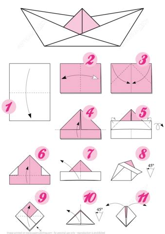 how to fold a boat origami origami boat free printable papercraft