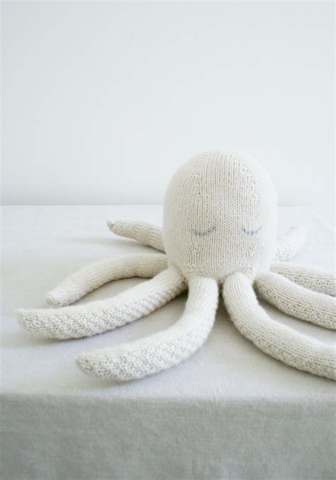 knitted octopus knit octopus purl soho create
