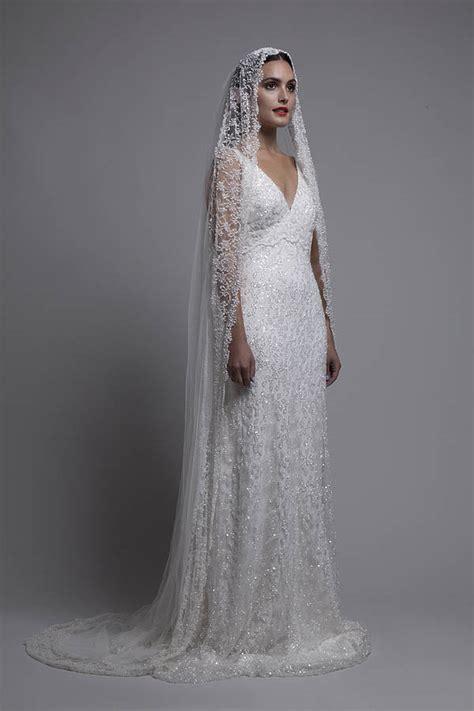 beaded wedding veil beaded mantilla veil veil and wedding