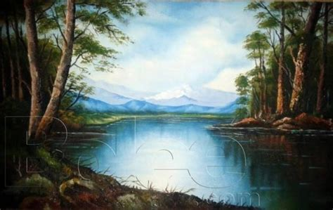 acrylic painting scenery acrylic painting of scenery at shogran abbottabad