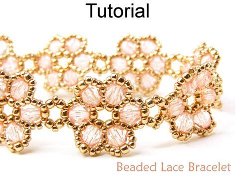beaded flower bracelet patterns beading tutorial pattern bracelet beadweaving beaded