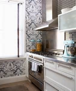 wallpaper design for kitchen damask wallpaper contemporary kitchen cameron
