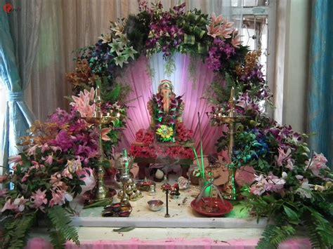 flowers home decoration ganpati mandap decoration with flowers www pixshark