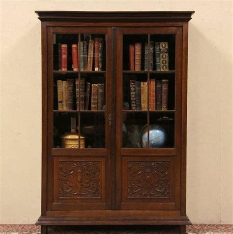 wood bookcases with doors bookcase with glass doors top bookshelves glass doors