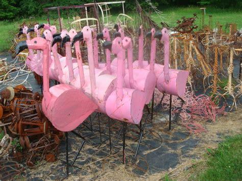 tin yard tin pink flamingo yard 52 quot