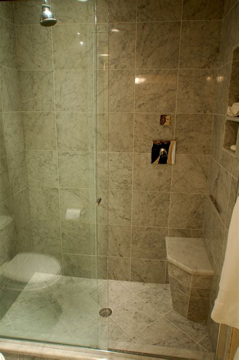 Small Bathroom Ideas With Shower Stall by Tiled Walk In Shower Studio Design Gallery Best Design