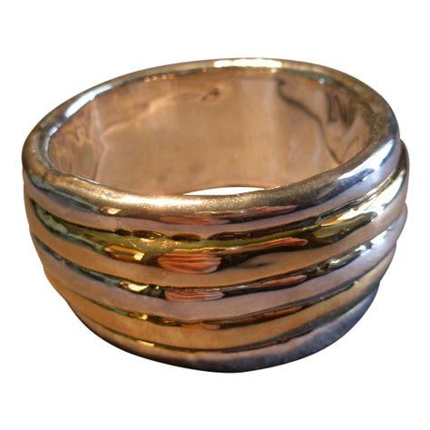 silver electroforming jewelry david varsano modernist electroform sterling silver gold
