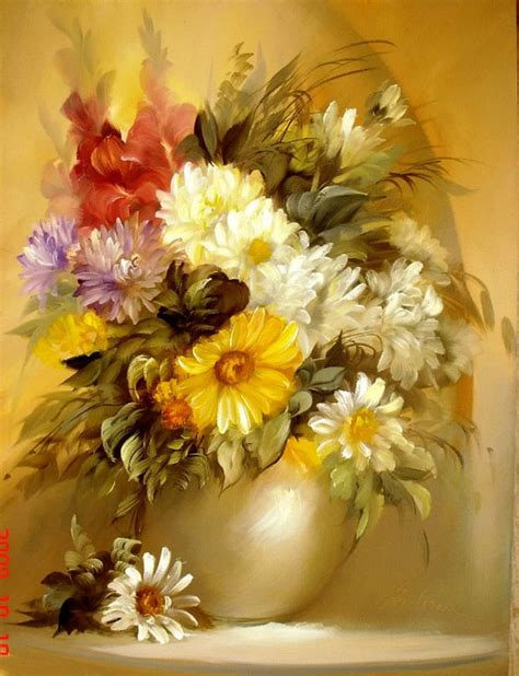 flower painting 20 beautiful bouquet and flower paintings by szechenyi