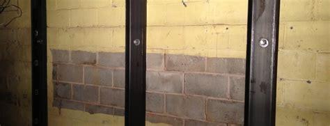 repair basement wall basement wall repair bowing basement walls