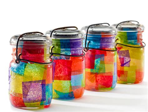 jar craft jar crafts for popsugar