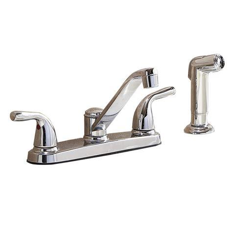 low arc kitchen faucet shop project source chrome low arc kitchen faucet with