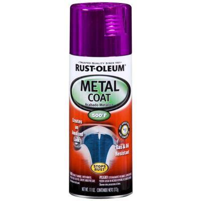 home depot paint lavender rust oleum automotive 11 oz metal coat purple spray paint