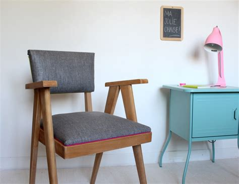 diy retapisser une chaise projet fauteuils diy chair