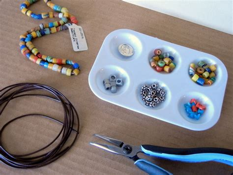 bead need easy to make leather and trade bead wrap bracelet rings