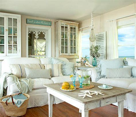 shabby chic cottage decor 17 best ideas about coastal living rooms on
