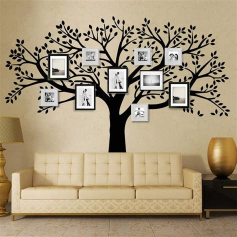 photo wall stickers 25 best ideas about family tree wall on