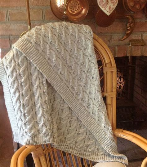 cable knit throw pattern free cable knit throw pattern crochet and knit