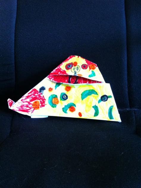 origami pizza pizza the hutt origami yoda