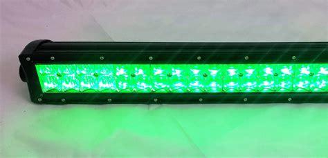 green led light bars rgb led light bar 50 quot 300w color changing led lights