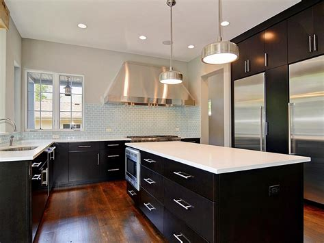 kitchen with black cabinets buying white kitchen cabinets for your cool kitchen