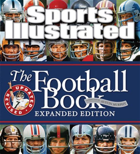 football picture books sports illustrated the football book expanded edition by