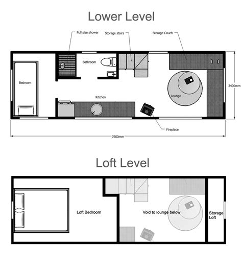 tiny house plans suitable for a family of 4