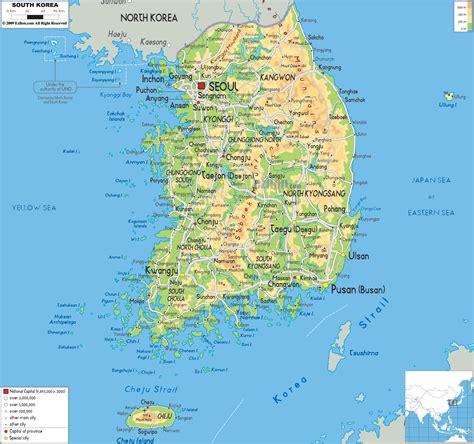 south korea south korea maps interaction