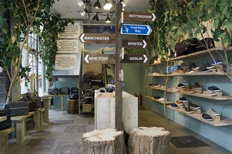 tree shop store fred perry store by studio xag 187 retail design
