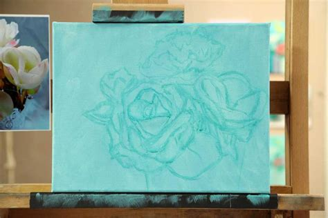 tips on using acrylic paint on canvas 4 tips for painting flower petals